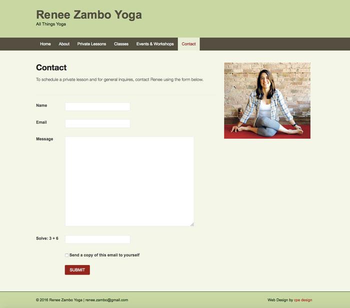 Zambo Yoga - contact