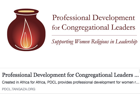 Professional Development for Congregational Leaders; Supporting Women Regligious in Leadership. PDCL logo / Facebook banner
